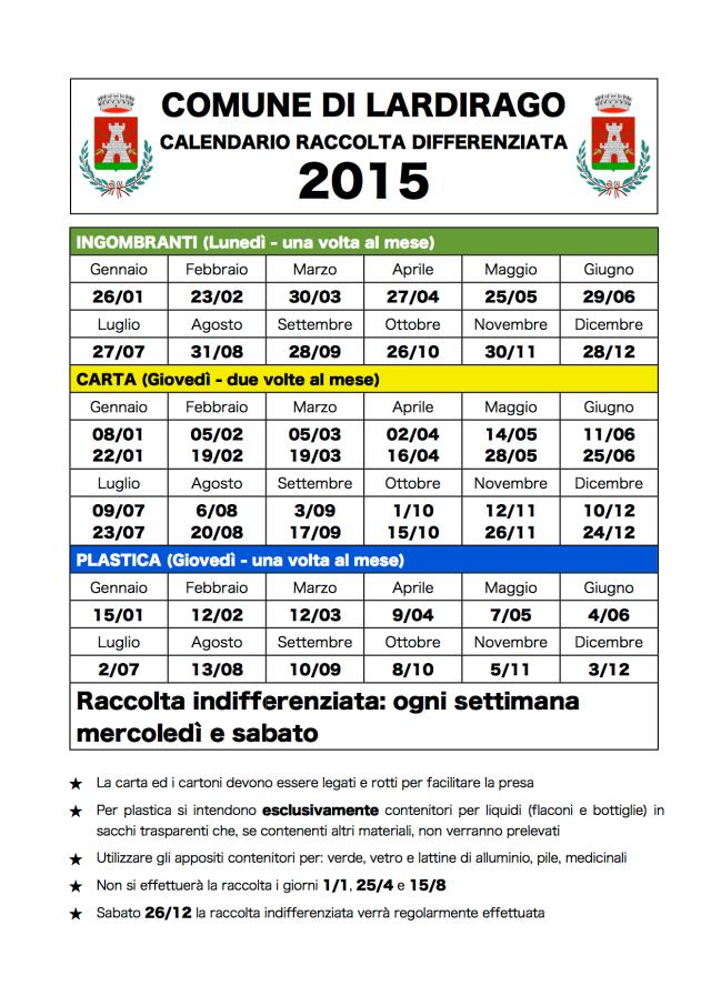 2014 12 18 calendario rifiuti