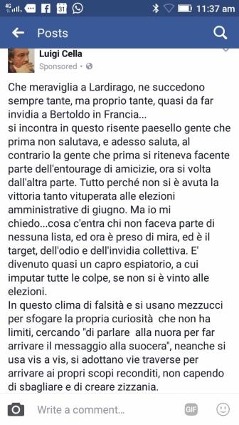 2017 07 26 Luigi Cella su FB